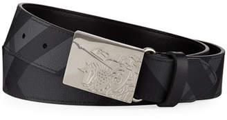 Burberry Men's Luke Signature Check Belt
