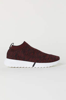 H&M Fully-fashioned Sneakers - Red