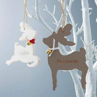 Seahorse Personalised Engraved Reindeer Decoration