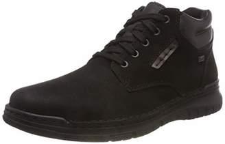 Rieker Men's 15931 Classic Boots, Black Kastanie/Schwarz 01