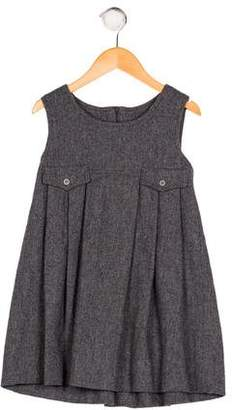 Cacharel Girls' Knit Pleated Dress