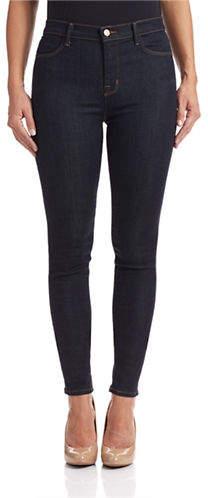 J Brand After Dark High-Rise Skinny Jeans