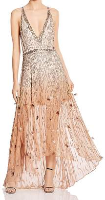 Haute Hippie Criminal Love Embellished Gown