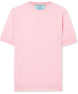 Prada Wool Sweater - Pastel pink