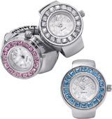 Avon Embellished Ring Watch