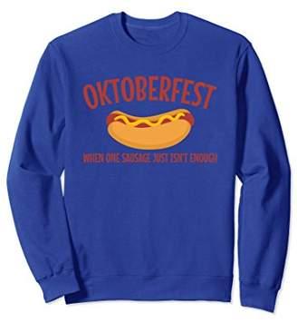 Oktoberfest Sausage Lovers Funny Sweatshirt