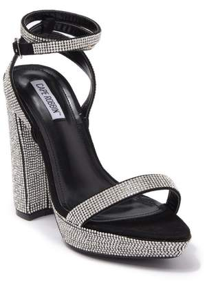 Cape Robbin Gianna Embellished Block Heel Sandal