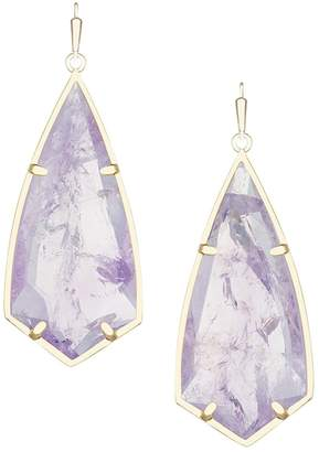 Kendra Scott Amethyst Drop Earrings