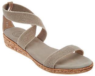 Co Charleston Shoe Multi Strap Wedge Sandals -Easton