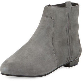Delman Wiley Suede Ankle Boot $398 thestylecure.com