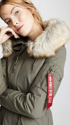 Alpha Industries J-4 Impact Fishtail Parka
