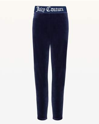 Juicy Couture Juicy Jacquard Stretch Velour Legging