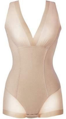 657c3064cc478 WANK Lady Nude Black Slip Body Shaper Firm Tummy Control Underbust  Shapewear L XL XXL
