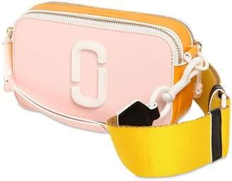 d7394d5489b9a Marc Jacobs Snapshot Leather   Ceramic Shoulder Bag