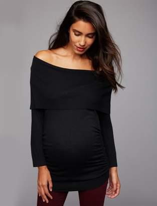 Off Shoulder Cowl Neck Sweater Shopstyle