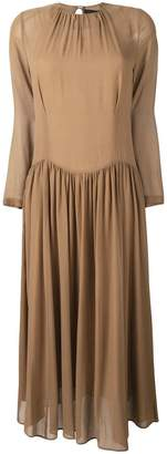 Cavallini Erika pleated midi dress