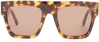 Stella McCartney Flat-top D-frame sunglasses