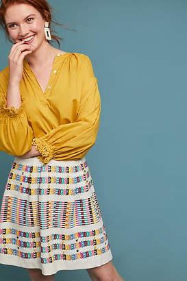 Akemi + Kin Beaded Rainbow Skirt