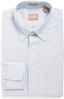 Cambridge Silversmiths Gitman 'Cambridge Oxford' Regular Fit Stripe Dress Shirt