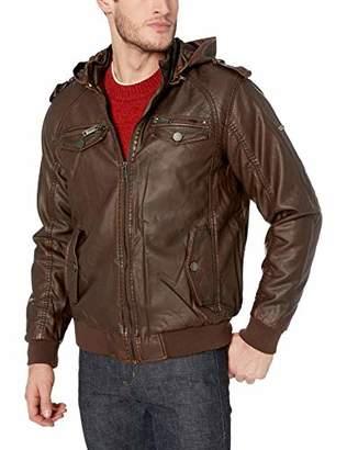 Rocawear Men's Hooded Fashion Outerwear Jacket