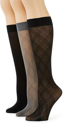 MIXIT Mixit 3 Pair Trouser Socks- Womens