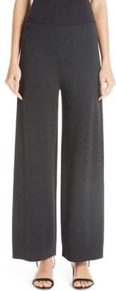 Mansur Gavriel Milano Knit Stretch Wool Trousers