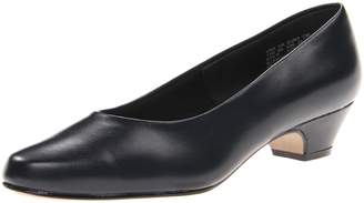 SoftStyle Soft Style Women's Angel II Pump,Navy Smooth