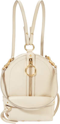 See by Chloe Small Ivory Leather Backpack