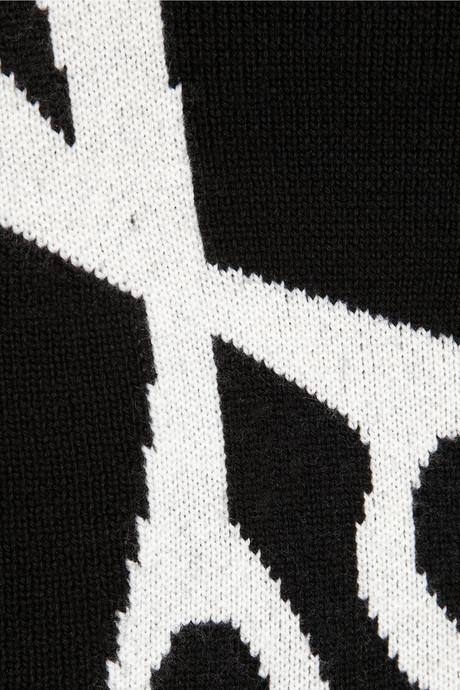 J.W.Anderson Scissors-intarsia merino wool sweater
