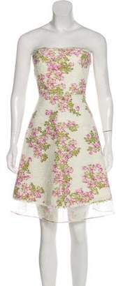 Giambattista Valli Floral A-Line Dress