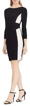 Ralph Lauren Color-Block Jersey Dress