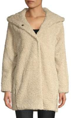 Chubby Faux-Fur Hooded Jacket