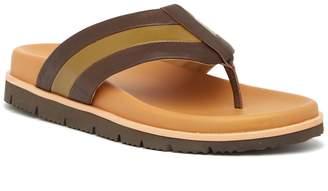 Donald J Pliner Leather Flip Flop