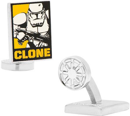 Men's Cufflinks Inc Star Wars Clone Trooper Pop Art Poster Cufflinks
