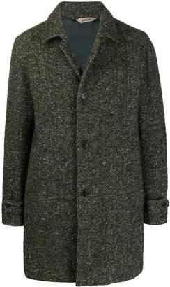 Aspesi single-breasted fitted coat