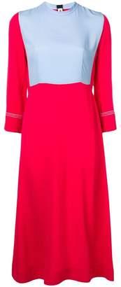 Marni colour-block midi dress