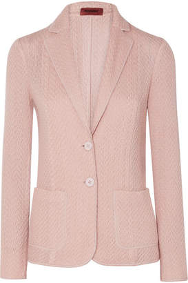 Missoni Wool-blend Cloqué Blazer - Cream