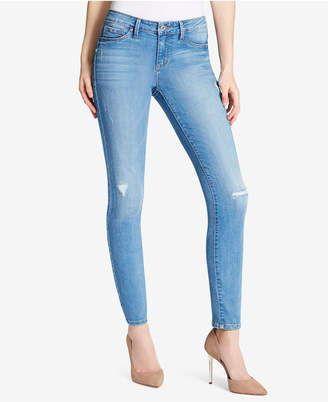 Jessica Simpson Juniors' Kiss Me Destructed Skinny Jeans