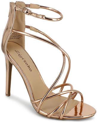 Zigi SOHO Girl Womens Blaker Zip Open Toe Stiletto Heel Pumps