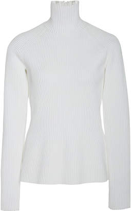 Carolina Herrera Rib Knit Sweater Size: XL