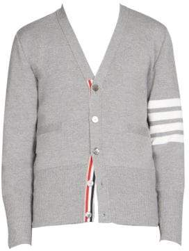Thom Browne Milano Stitch Wool Cardigan