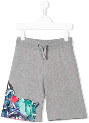 Marcelo Burlon County of Milan Kids snake printed shorts