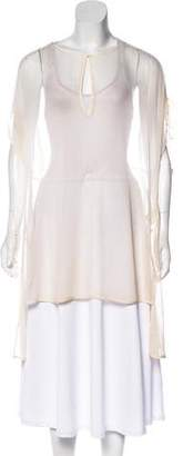 3.1 Phillip Lim Silk Cutout Tunic