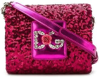 Dolce & Gabbana Millennials sequinned shoulder bag