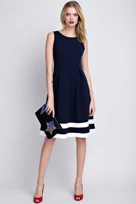 74c0e464ddbb Ami 12pm by Mon Classic Navy Dress