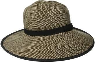 San Diego Hat Company Women's Ultrabraid Sun Brim Capped Back with Band