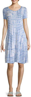 Liz Claiborne Scoop Pocket Dress - Tall