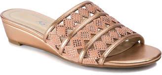 Andrew Geller Idonna Wedge Sandal - Women's