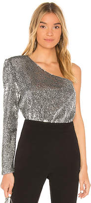 Bardot Sequined Top