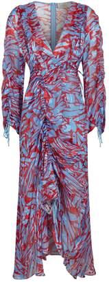 Preen Printed Asymmetric Midi Dress